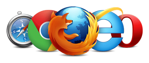 Most popular Web Browsers